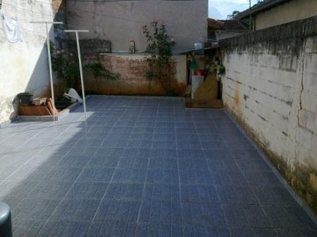 piso do quintal