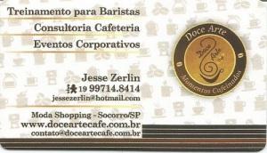 Cartao Doce Arte Cafe